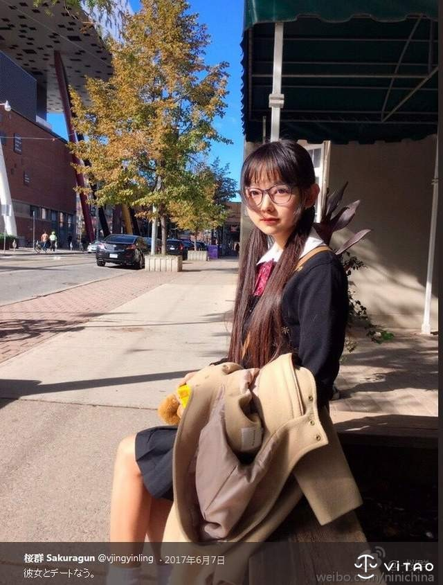 【GG扑克】网络正妹樱群Sakuragun 可爱制服照片散发着甜美小清新