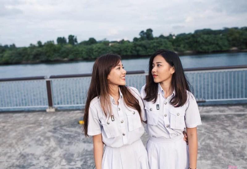 【GG扑克】大马甜美双胞胎正妹 绝美脸蛋令人着迷