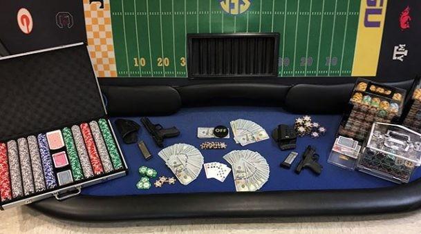 【GG扑克】田纳西当局突袭私人扑克局,缴获筹码及赌资