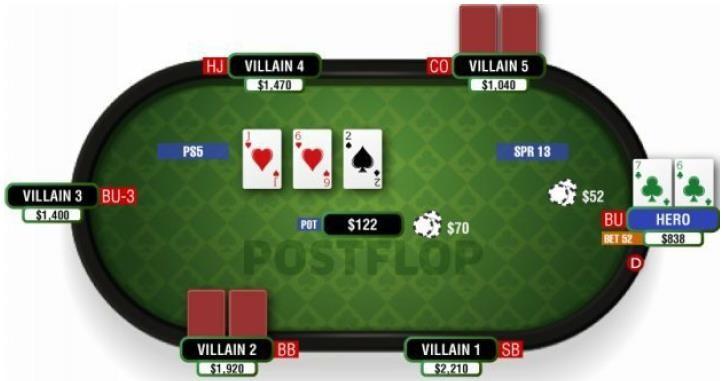 【GG扑克】《Postflop-II》- 25:中对 - 4
