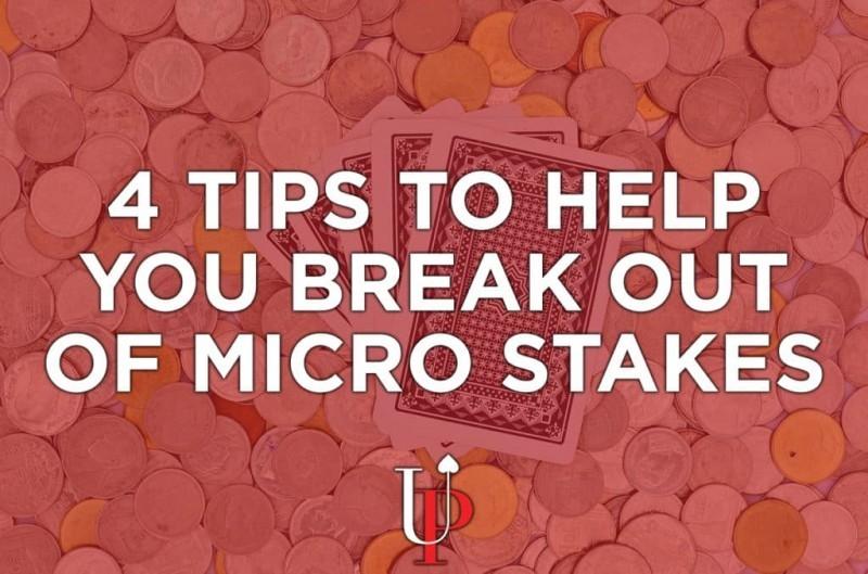 【GG扑克】帮助你超越微注额的四个小贴士