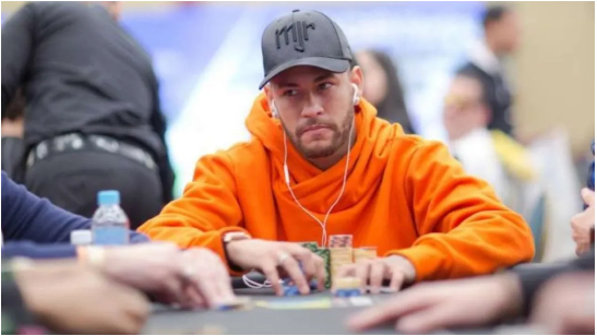 【GG扑克】内马尔在赏金赛中登上领奖台