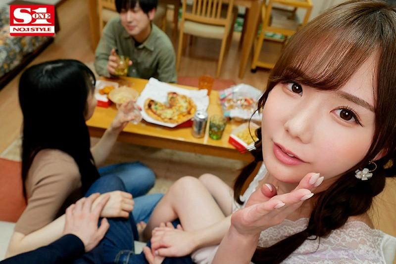 """【GG扑克】""""miru""""作品SSIS-106 :小恶魔美少女当着人家另一半的面前勾引有妇之夫!"""