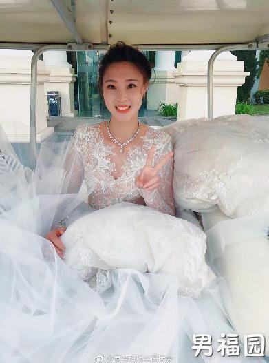 【GG扑克】最美排球队长惠若琪今天大婚 高清婚纱照