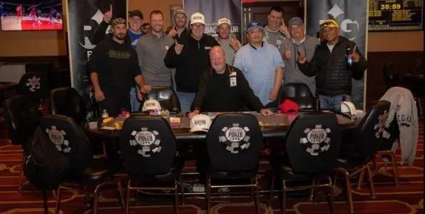 【GG扑克】在一场现场比赛中,最后的11名玩家竟然平分了奖金