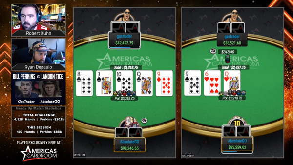 【GG扑克】Landon Tice挥舞白旗:Bill Perkins比预期的更强