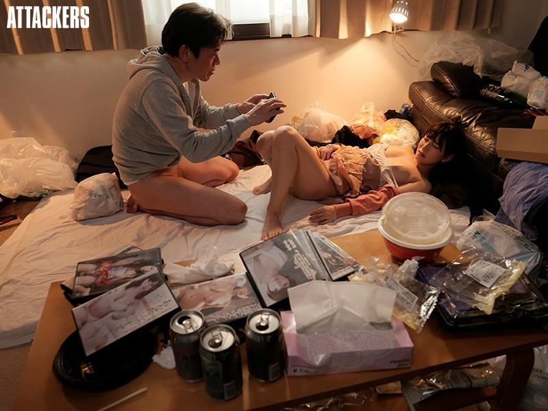【GG扑克】初川みなみ(初川南)作品ADN-331 :每天被住在垃圾屋的变态大叔中出的人妻。