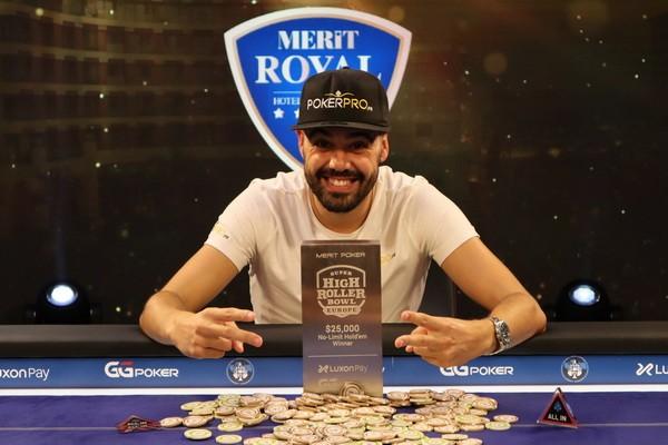【GG扑克】Johan Guilbert赢得超级碗豪客赛第二项赛事