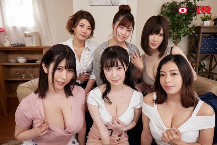 【GG扑克】朝田ひまり(朝田日葵)3DSVR-1001:一次可以揉六位女优的大奶。