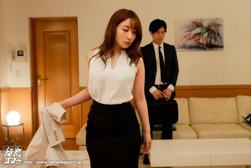 """【GG扑克】""""北野未奈""""作品MEYD-695:喝醉的巨乳女上司主动亲了上来!"""