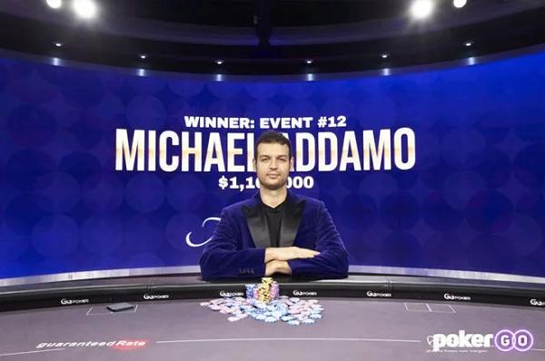 【GG扑克】Michael Addamo赢得背靠背赛事,获得扑克大师赛紫色外套