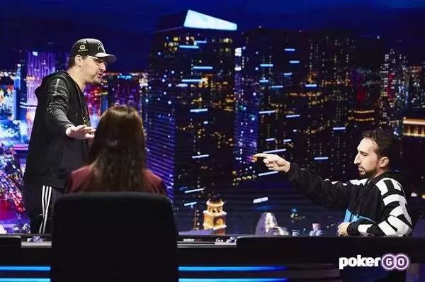 【GG扑克】《深夜扑克》最新一集里Hellmuth因上头输掉了比赛
