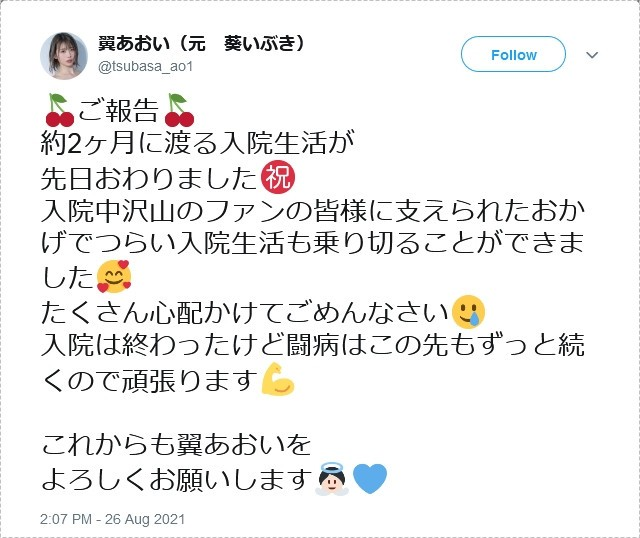 【GG扑克】Twitter、IG全删、事务所移除资料、翼あおい消灭!