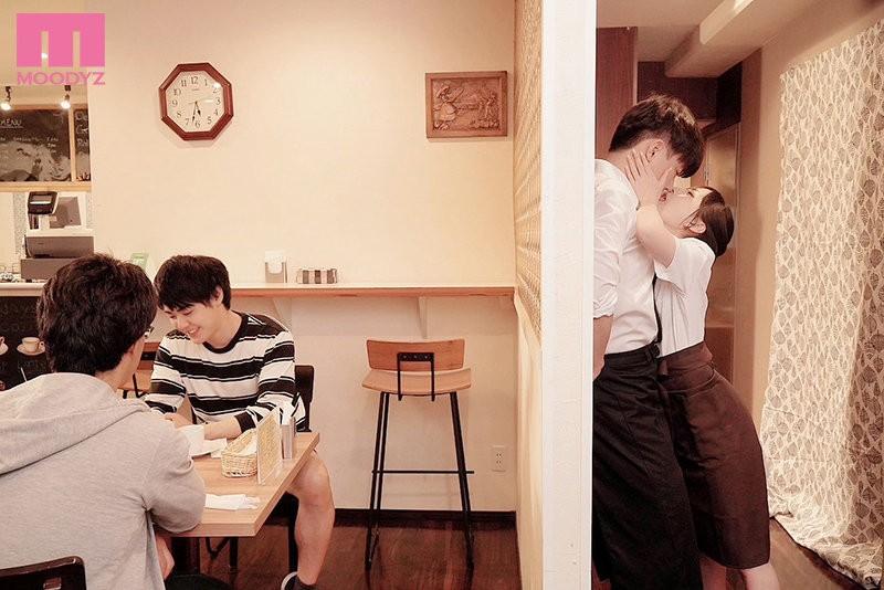 【GG扑克】七沢みあ(七泽米亚)mide-983:咖啡店痴女强迫帮小鲜肉店员玩弄口技